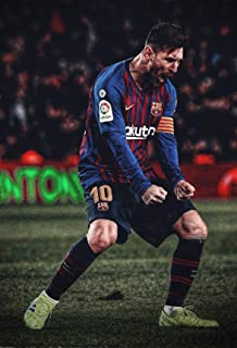 VVWV The god Lionel Messi Posters for Wall Large Room Motivational Room Decoration L X H 30.48 X 45.72 Pack1