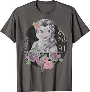 Beauty And The Beast Belle Vintage Collage T-Shirt