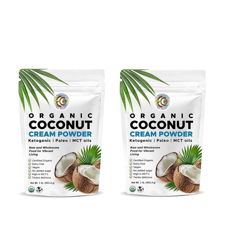 Earth Circle Organics - Organic Milk Cream Coconut Powder Challenge the lowest 5 popular price Per