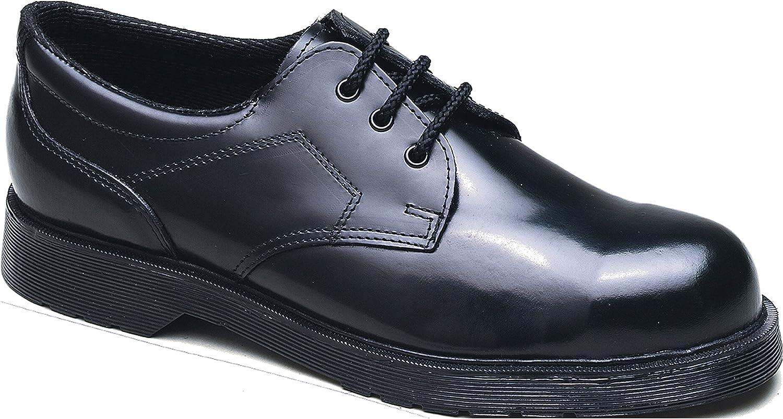 Tuffking 5015 SB Black Steel Toe Cap High Gloss Shine Gibson Safety Work shoes