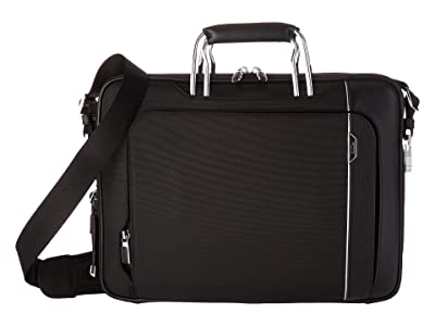 Tumi Arrive Hannover Slim Brief (Black) Briefcase Bags
