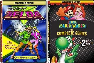 Super Mario World / The Legend of Zelda 2 Complete Series DVD Collection
