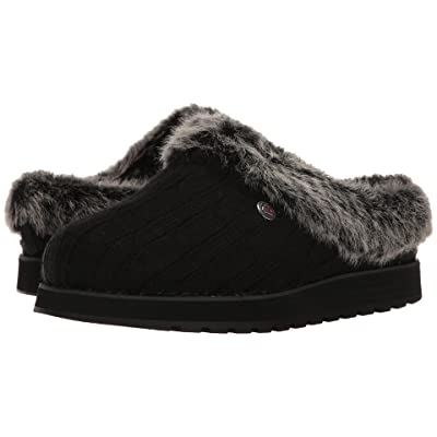 BOBS from SKECHERS Keepsakes Ice Angel (Black) Women
