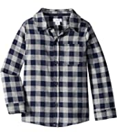 Long Sleeve Flannel Button Down Shirt (Infant/Toddler)