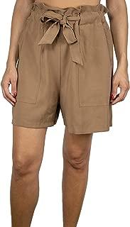 DIXIE Luxury Fashion Womens PBIBLAQ111 Beige Shorts   Spring Summer 19
