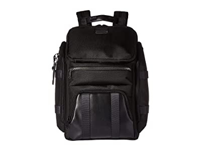 Tumi Alpha Bravo Tyndall Utility Backpack (Black) Backpack Bags