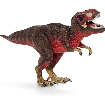 シュライヒ 恐竜 ティラノサウルスレックス (レッド) フィギュア 72068