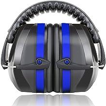 Fnova 34dB Highest NRR Safety Ear Muffs - Professional Ear Defenders for Shooting, Adjustable Headband Ear Protection/Shoo...