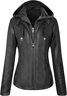 Best leather hooded jacket Reviews
