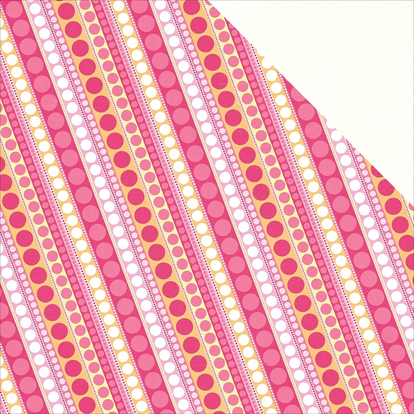 Photo Play Paper PG2174 25 Sheet Diagonal Dot Party Girl Double-Sided Cardstock, 12