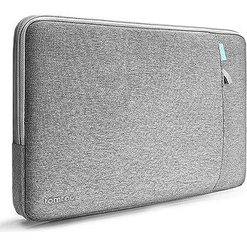 "tomtoc Laptop Tasche Hülle für 13,3 Zoll MacBook Air 2020 2019 2018 (A1932 A2179) / Pro 13"" 2016-2020 (A2289 A2159 A1989 A1706 A1708) / Dell XPS 13, Sleeve Case Laptophülle Laptoptasche Grau"