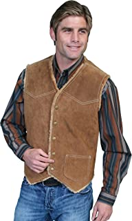 Scully Men's Boar Suede Leather Vest - 82-86
