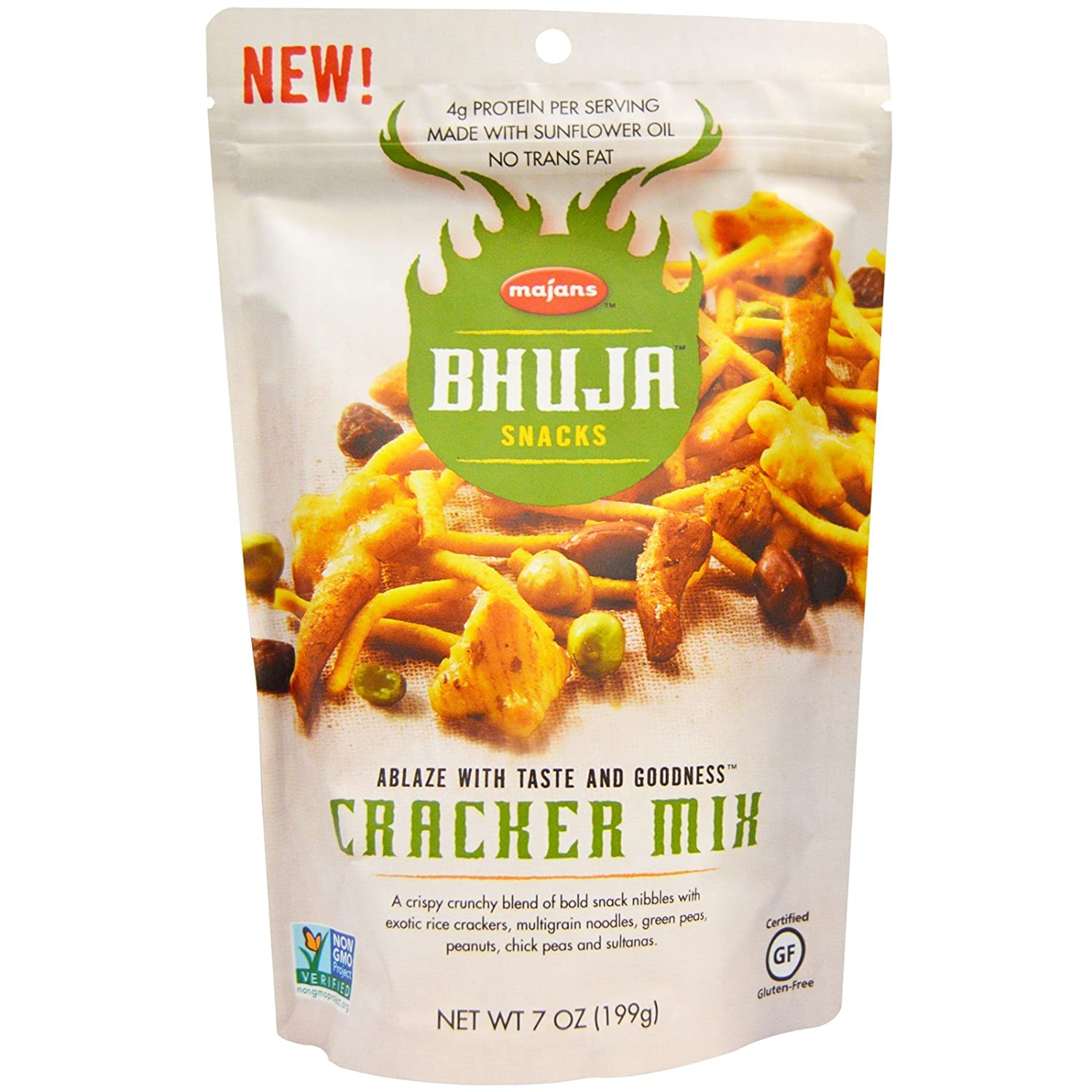 Bhuja Cracker New Shipping Free Shipping store Mix 7 of Pack 3 oz