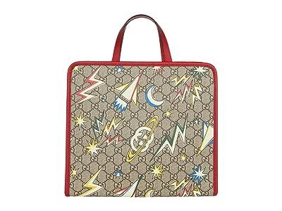 Gucci Kids GG Space Camp Tote Bag (Little Kids/Big Kids) (Beige/Ebony/Multi) Handbags