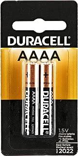 Duracell Ultra Power Alkaline Batteries w/Duralock Power Preserve Technology, AAAA, 2/Pk