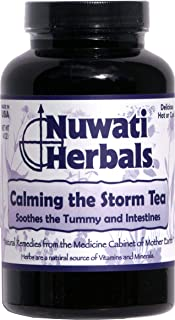 Nuwati Herbals Calming the Storm - Soothes Tummy and Intestines - Herbal Tea, 4 oz.