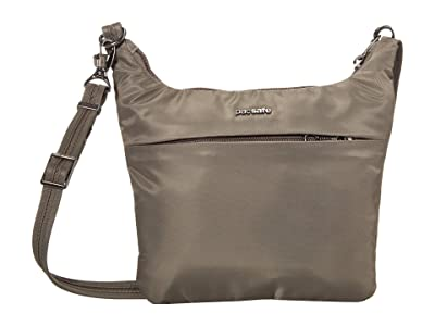 Pacsafe Cruise On The Go Crossbody (Ashwood) Handbags