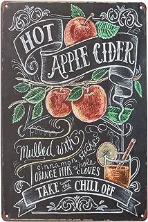 hot apple cider sign