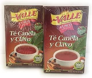 50 Bags-Cinnamon Cloves Tea/Te de Canela y Clavo