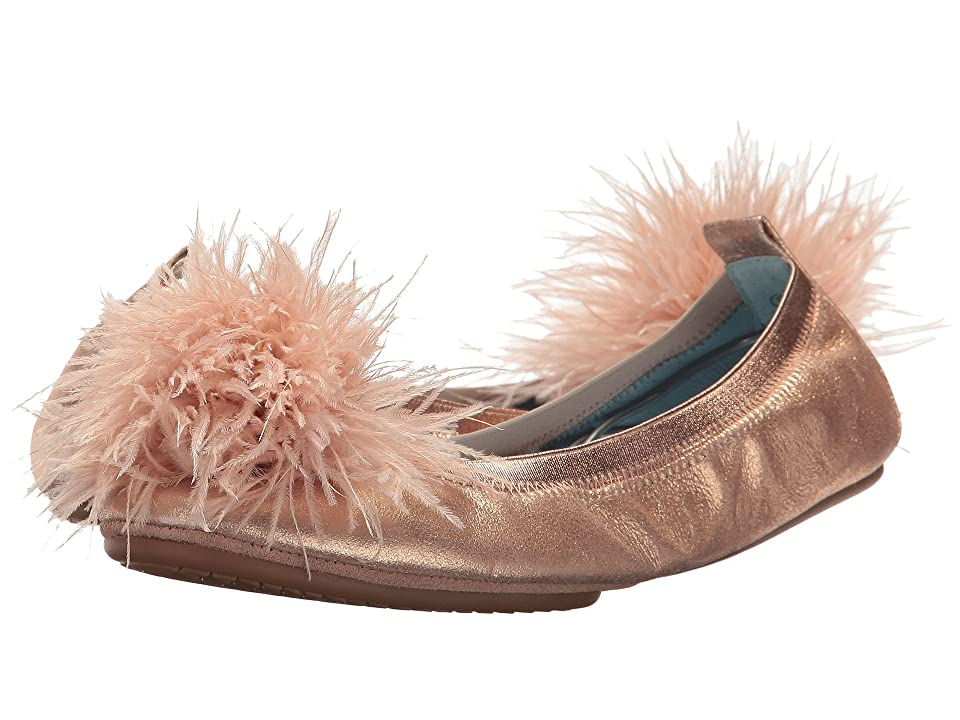 Yosi Samra Marry Me Marabou (Rose Gold Leather/Pom) Women