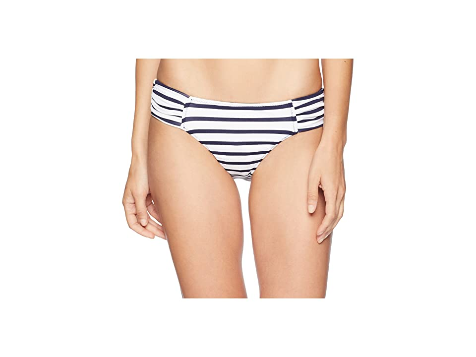 Tommy Bahama Channel Surf Reversible Shirred Hipster (Mare Navy) Women