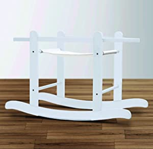 Deluxe Little Gem White Rocking Stand