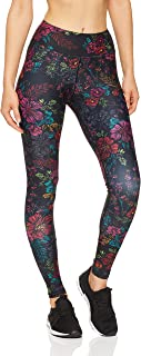 Dharma Bums Women's Equinox High Waist Printed Activewear Legging - Full Length