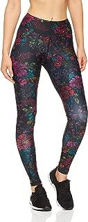 Dharma Bums Women's Equinox High Waist Printed Activewear Legging - Full Length