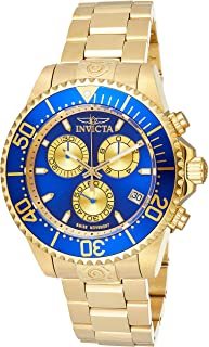 Invicta Men's Blue Dial Stainless Steel Band Watch - IN-26849