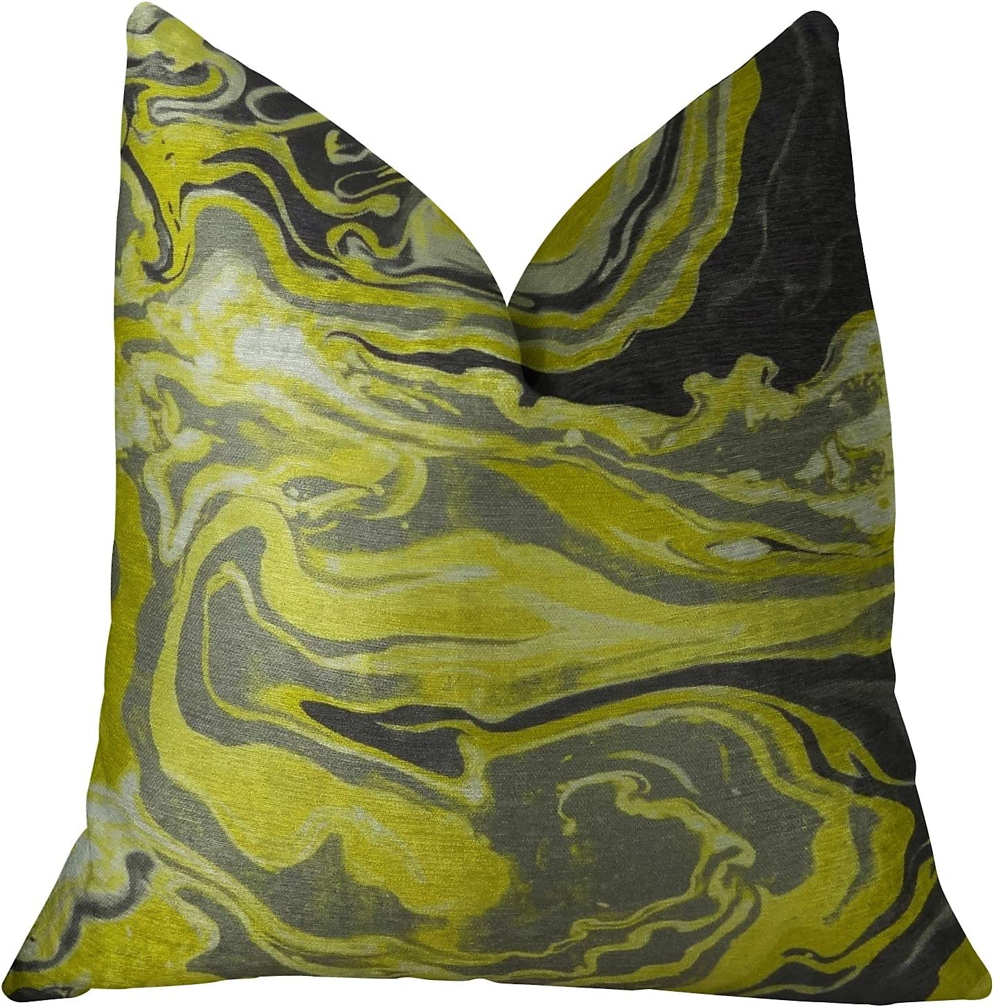 Plutus Brands Online limited product Medici Marble Ink Throw Handmade Super popular specialty store Pillow 20
