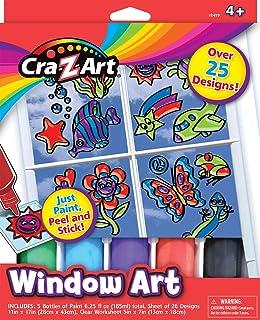 Cra-Z-Art - Window Art: Just Paint Peel and Stick!