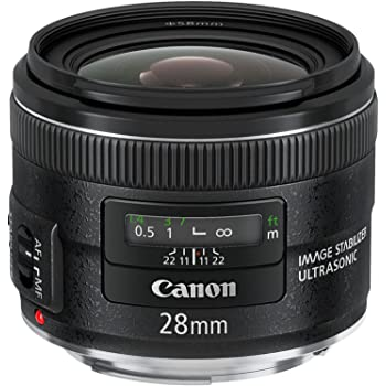 Canon EF 28mm f/2.8 IS USM Wide Angle Lens - Fixed