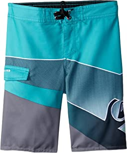 Slash Fade Logo Boardshorts (Toddler/Little Kids)