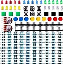 ELEGOO Electronics Component Pack with resistors, LEDs, Switch, Potentiometer for Arduino UNO, MEGA2560, Raspberry Pi