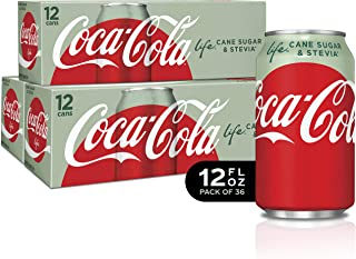 Coke Life Fridge Pack Bundle, 12 fl oz, 36 Pack