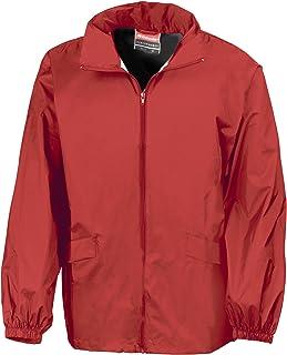 Result Mens Lightweight Windcheater in a Bag Showerproof Windproof Jacket (Concealed Hood)