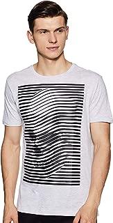 ABOF Men's Printed Regular Fit T-Shirt