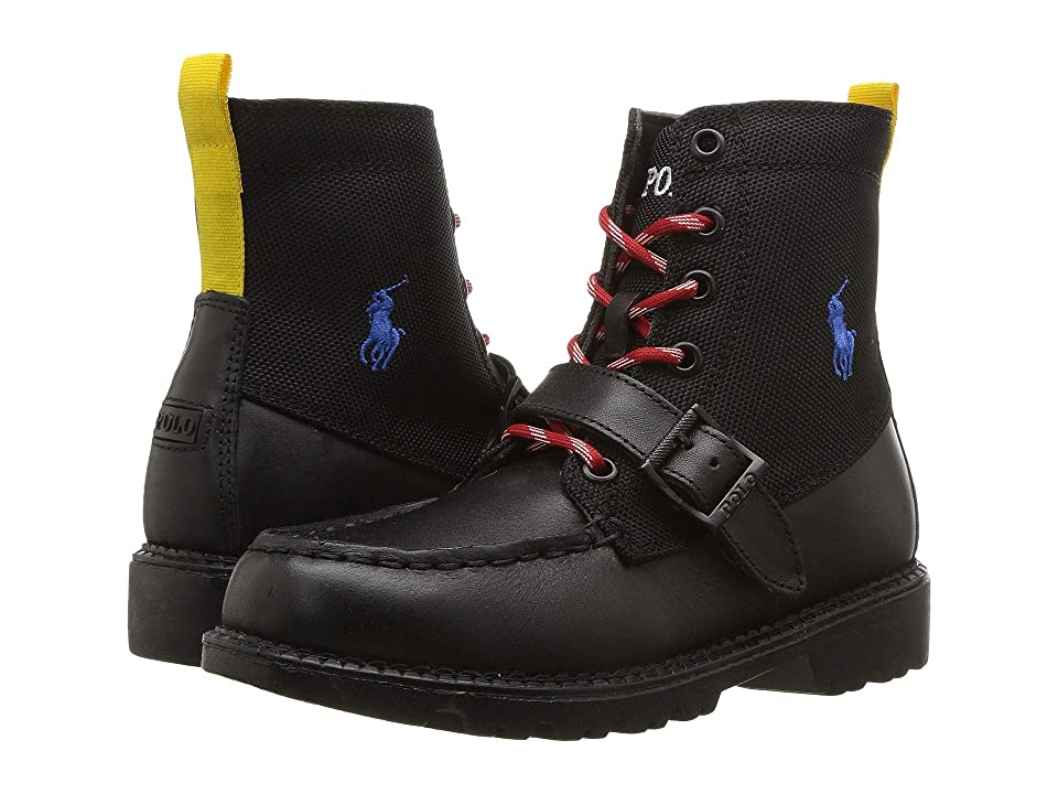 Polo Ralph Lauren Kids Ranger Hi II (Little Kid) (Black) Kid