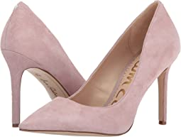 Pink Mauve Kid Suede Leather
