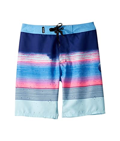 Hurley Kids Overspray Boardshorts (Big Kids) (Deep Royal Blue) Boy