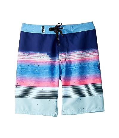 Hurley Kids Overspray Boardshorts (Big Kids) (Deep Royal Blue) Boy