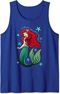 Disney The Little Mermaid Ariel's Song Music Notes Tank Top