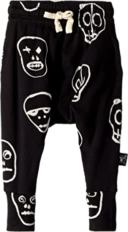 Nununu - Skull Mask Baggy Pants (Infant/Toddler/Little Kids)