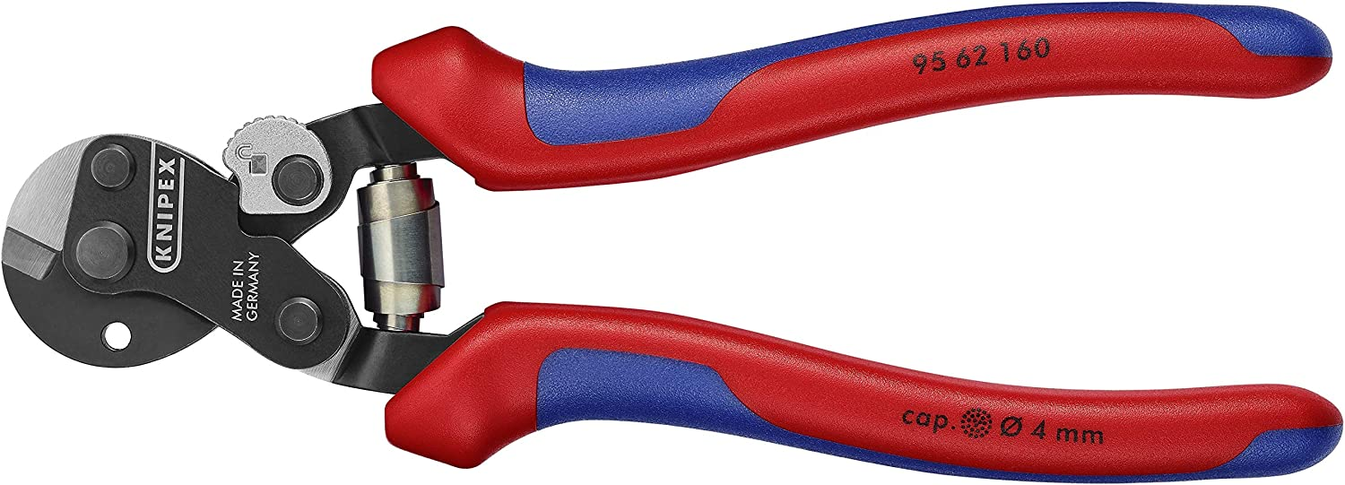 KNIPEX Tools 95 62 160 Wire Rope Cutters with Opening Lock and Spring, 6-Inch B07JN75D67 | Sonderaktionen zum Jahresende