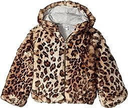 Splendid Littles - Leopard Faux Fur Hooded Jacket (Little Kids)