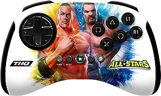 PlayStation 3 WWE All Stars Wireless Brawl Pad The Rock and Triple H