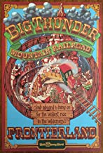 Walt Disney World's Big Thunder Mountain Classic Attractions Poster Art