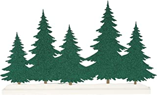 Department 56 Village Collections Accessories Christmas Silhouette Tree Figurine, 9.97