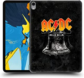 Official AC/DC ACDC Hells Bells Song Titles Hard Back Case Compatible for iPad Pro 11 (2018)