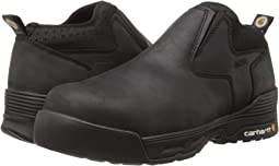 Carhartt 4 Inch Black Waterproof Slip-On